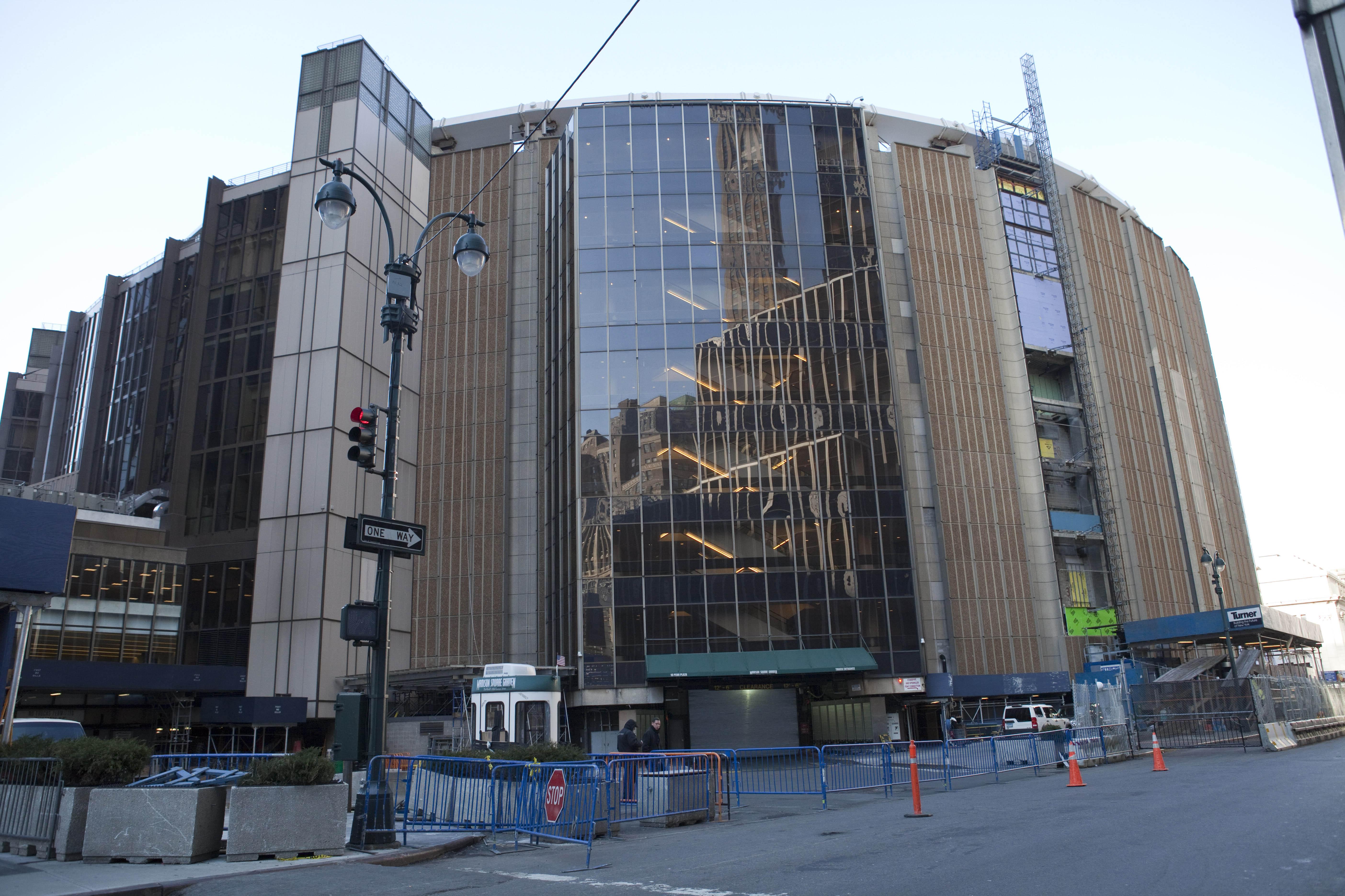 Madison Square Garden permit denied, possible relocation