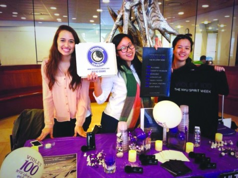 Student governments prepare Violet 100 week