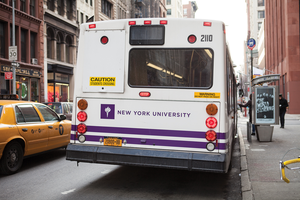 Bus routes altering for NYU students