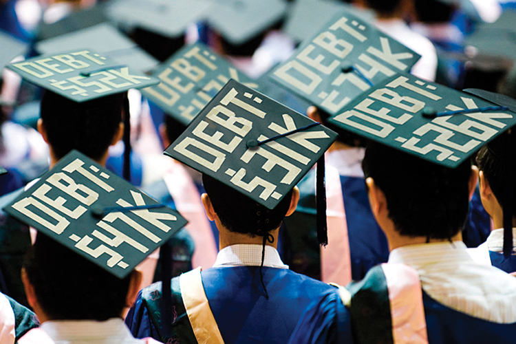 Student debt burdens families after death