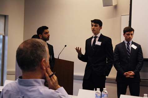 Students give solutions to global policy issues