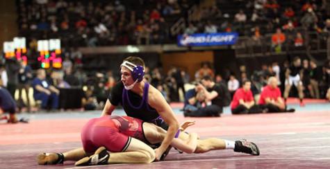 CAS junior leads, excels in wrestling