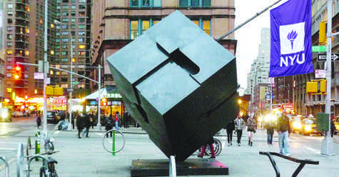 Living in Astor Place cube isn't for squares