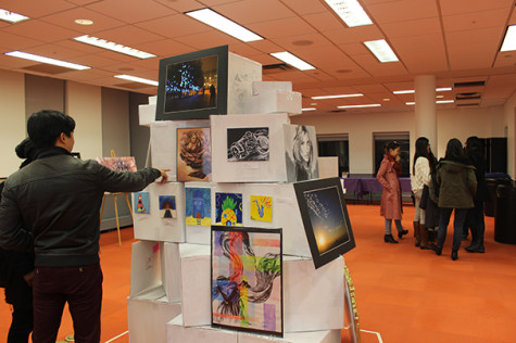 Art reveals other side of business students