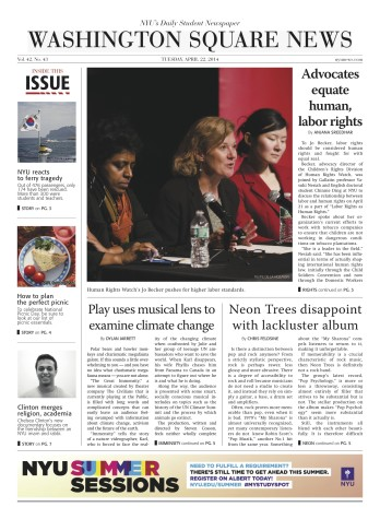 Today's Front Page 4/22/2014