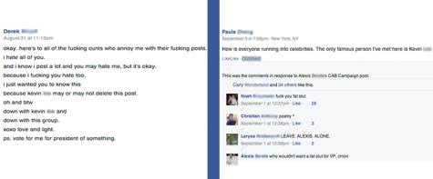 Freshman class Facebook group under fire