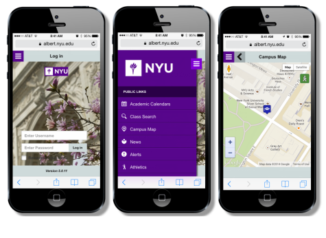 NYU launches Albert Mobile