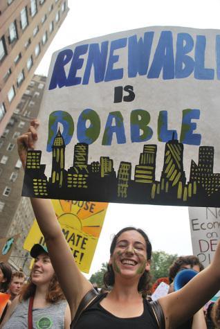 Students unite in pre-march