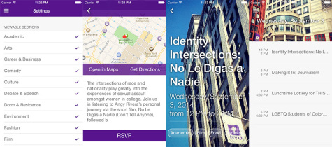 NYU Events app to launch this week