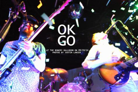 Gallery: OK Go performs at the Bowery Ballroom on September 20th