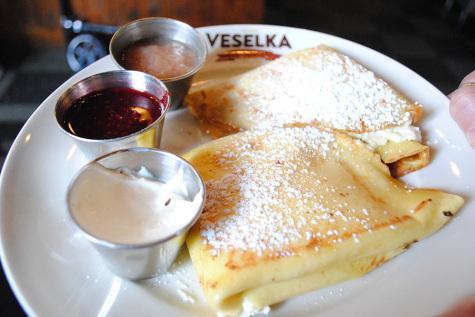 Global pancake varieties sold in NYC