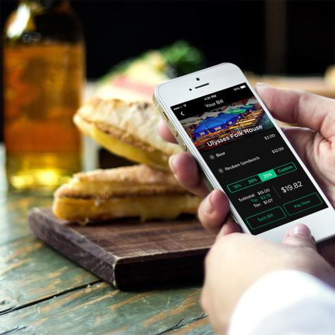 Purchasing food made easier with mobile app