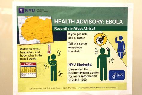 NYU  prepared  in case of Ebola