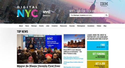 De Blasio announces creation of tech hub