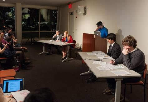 Students gather to debate  key issues