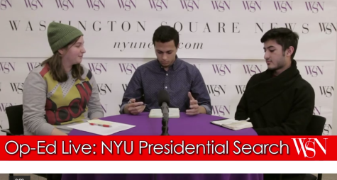 [VIDEO] Op-Ed Live: Presidential Search