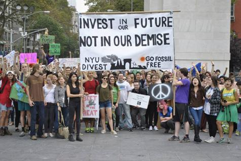 NYU must divest to ensure global effort to combat climate change