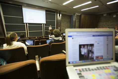 Professors, students debate pulling plug on technology