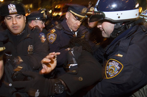 Protests follow Garner decision