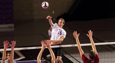Men's volleyball improves ranking