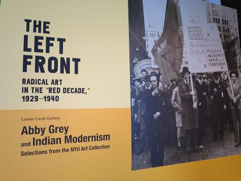 'Left Front' exhibit is radical