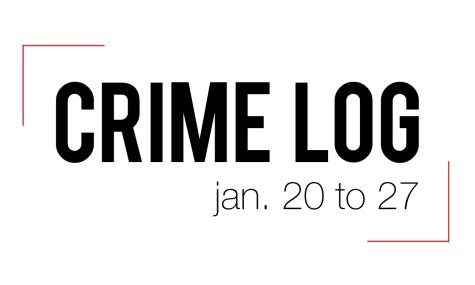 Crime Log: Jan. 20 to 27