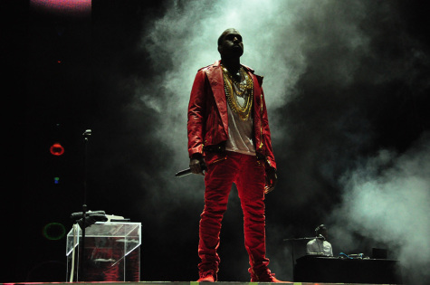 Kanye West's rant takes center stage