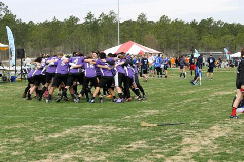 Quidditch sweeps competition
