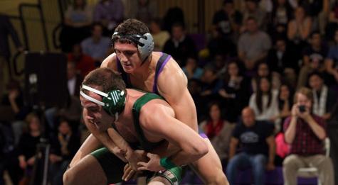 Wrestling wins big at home
