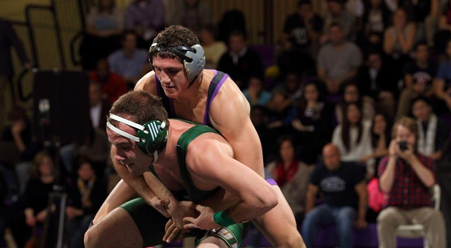 Wrestling wins big at home washington square news for 16 wrestlers and their huge homes