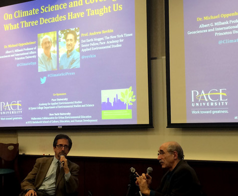 Experts discuss climate change