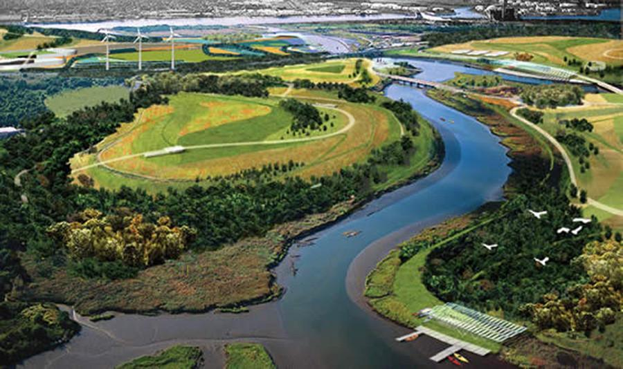 Three+times+the+size+of+Central+Park%2C+Freshkills+Park+is+a+prime+weekend+getaway.