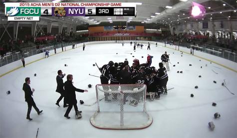 Men's hockey wins ACHA championship