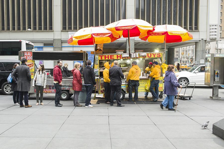 The+Halal+Guys+cart+is+located+on+53rd+St+and+6th+Ave+as+well+as+other+locations+around+Manhattan.