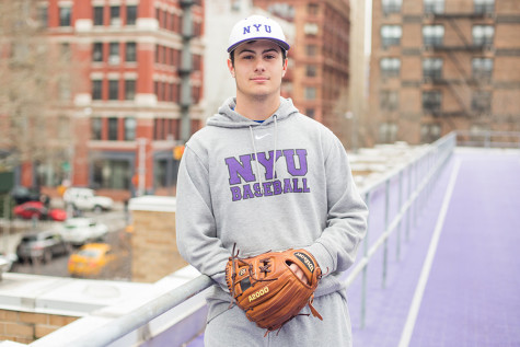 Shortstop shows love for NYU, baseball