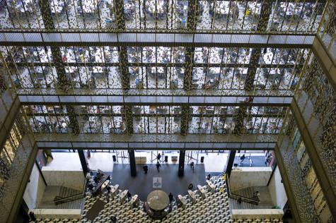 NYU, Bobst workers clash over job changes