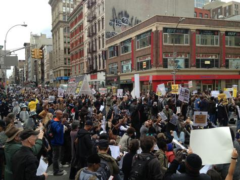 Hundreds protest police brutality