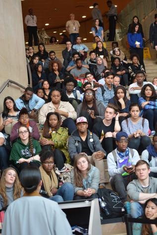 Students mourn massacre victims