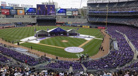 NYU All-University Commencement 2015