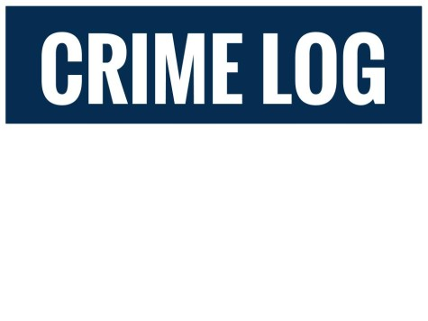 Crime Log: March 27 to April 2