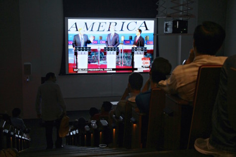 Political groups at NYU host GOP debate screening