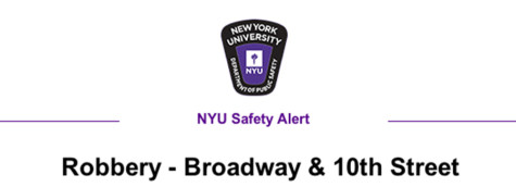NYU students robbed by so-called CD bullies