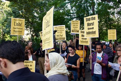 PHOTOS: Groups rally against forced emigration