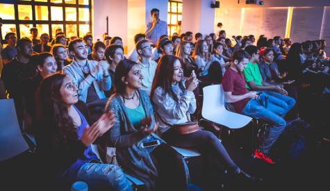 NYU Democrats and Politics Society take in debate at viewing party
