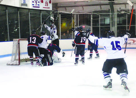 Men's hockey to defend win streak