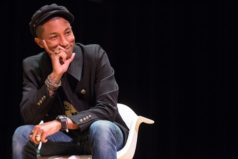 Pharrell Williams is elusive campus icon