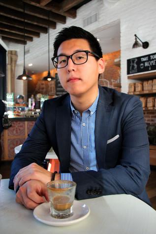Coffee break with SPS junior Arnold Byun