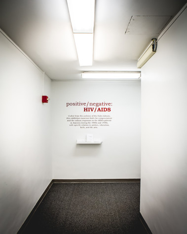 positive/negative: HIV/AIDS at NYU Fales Library