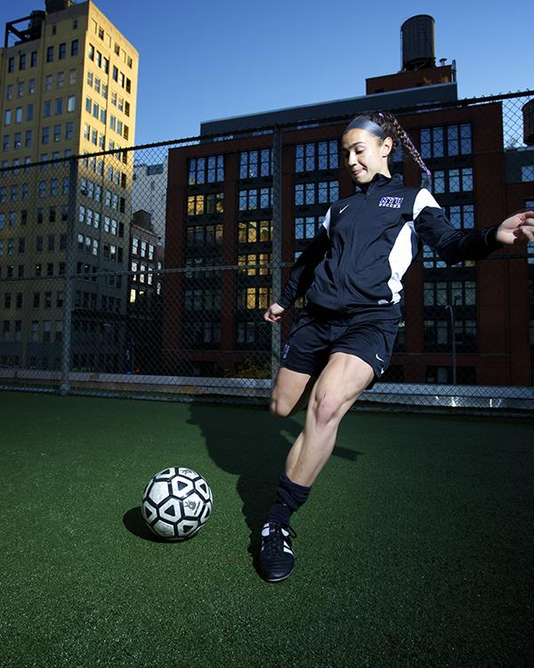 Steinberg+has+been+the+starting+goalie+for+all+three+years+of+her+NYU+Soccer+career.++