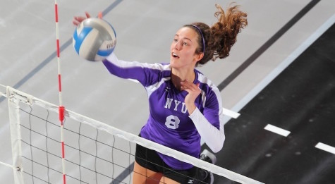 Women's volleyball on track after win versus Stevens
